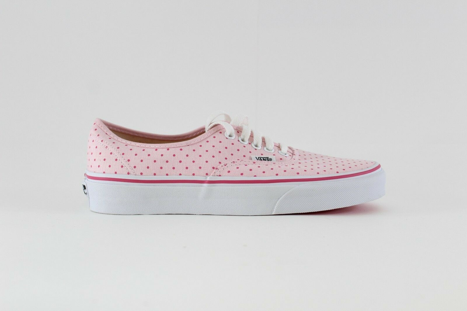 Vans Authentic (Chambray Dots) Hot 8 Pink 8 Hot 85e783