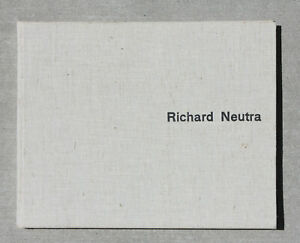 Richard-NEUTRA-Rare-Architecture-amp-Design-Book-Mid-Century-Modern-Eames-1950s