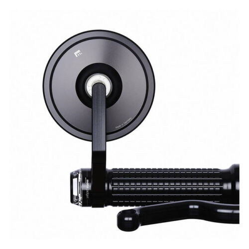 Black Motogadget M View Cafe Glassless Bar End Motorcycle Wing Mirror