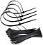 Lot-200-Colliers-de-serrage-plastique-attache-cable-Colson-Rilsan-2-5X100mm miniatura 1