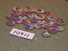 6mm napoleonic battle markers (as photo) (10911)