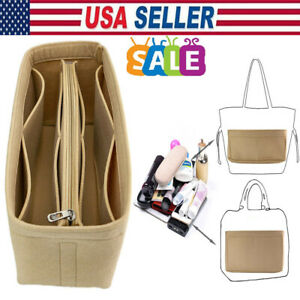 Women-Multi-Pocket-Portable-Felt-Fabric-Purse-Case-Handbag-Organizer-Bag-Insert