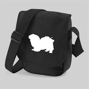 Tibetan-Spaniel-Dog-Bag-Silhouette-Shoulder-Bags-Handbags-Birthday-Gift
