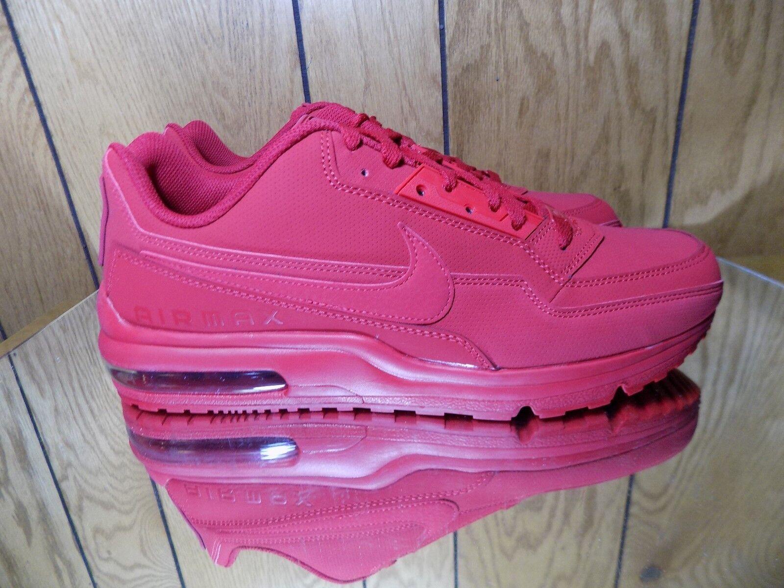 Nike Air Max LTD los 3 Zapatos corrientes de los LTD hombres de gimnasio Rojo / gimnasio Rojo 687977-602 s nuevos a29b48