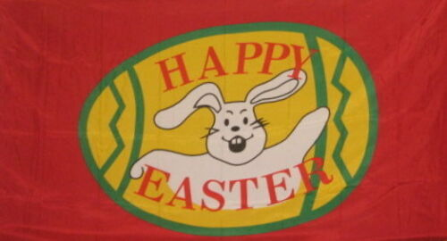 Happy Easter 3x5 feet Happy Easter Flag