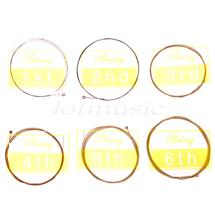 5 sets of 6 strings 010 047 light for yamaha acoustic guitar parts replacement 634458563932 ebay. Black Bedroom Furniture Sets. Home Design Ideas