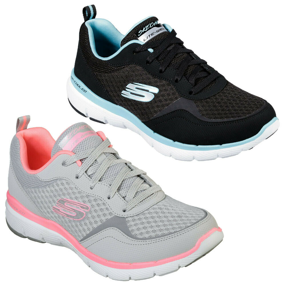 Femmes Skechers 13069 Flex Appeal 3.0 Go Forward TRAINER Turnchaussures Chaussure Souple