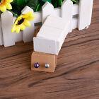 100Pcs Blank Earrings Ear Studs Jewelry Display Card Hanging Tags Kraft Paper