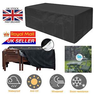 Heavy Duty Waterproof Patio Garden Furniture Cover Outdoor ...