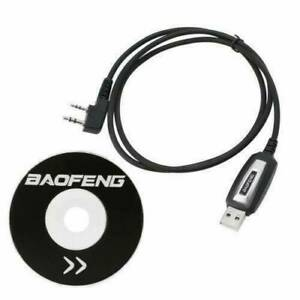 1-USB-Programming-Cable-CD-for-Baofeng-UV-5R-666S-777S-888S-UV-B5-UV-B6-Radio