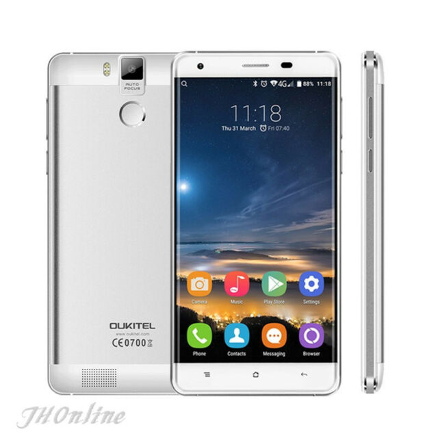 "OUKITEL K6000 Pro 5.5"" 4G Android 6.0 Octa Core Smartphone 3GB+32GB 16MP 6000mAh"
