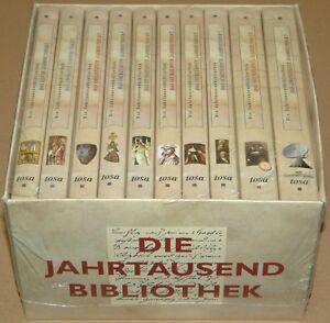 Die-Jahrtausendbibliothek-Set-aus-10-Baende-im-Pappbox-Neu-amp-OVP