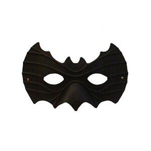 black bat shape mask super hero fancy dress masquerade man halloween costume ebay. Black Bedroom Furniture Sets. Home Design Ideas