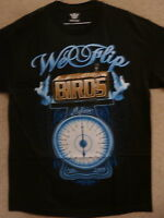 Mafioso Men's T-shirts we Flip Birds --black