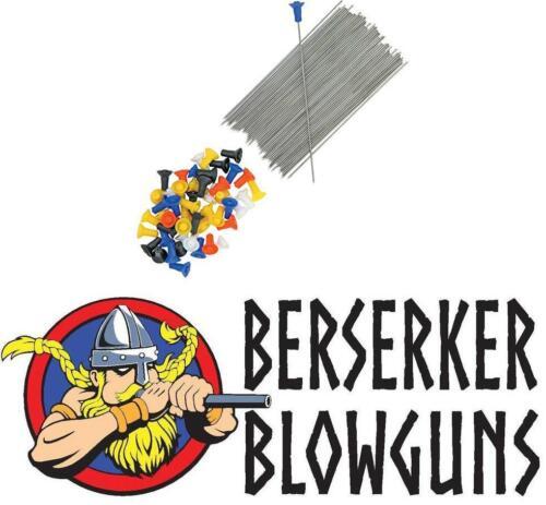 Made in the USA 50 Pack .40c Blowgun Target Darts from Berserker Blowguns