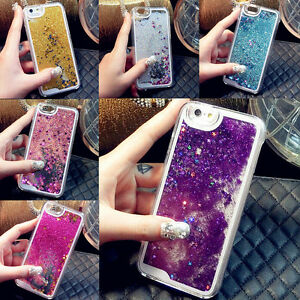 Dynamic-Quicksand-Glitter-Liquid-Stars-Phone-Case-Cover-Back-For-Various-Phones