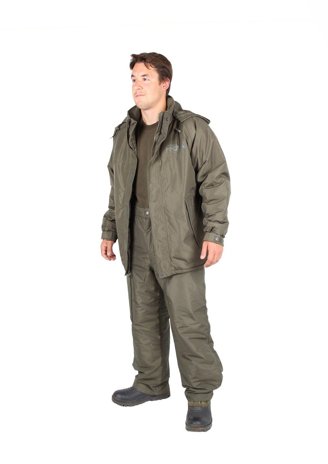 Nash H-Gun Jacket Trousers + T-Shirt Combo Anzug Angelanzug Jacke + Hose + Shirt