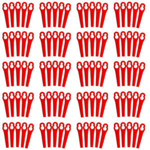 100PCS-Plastic-Blade-Set-Grass-Replacement-Blade-For-Cordless-Trimmer-Parts