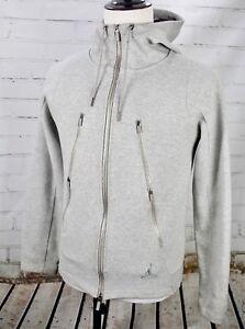f6a2eed28d69 NIKE AIR JORDAN Fleece Men s Training Hoodie Full Zip Sweatshirt ...