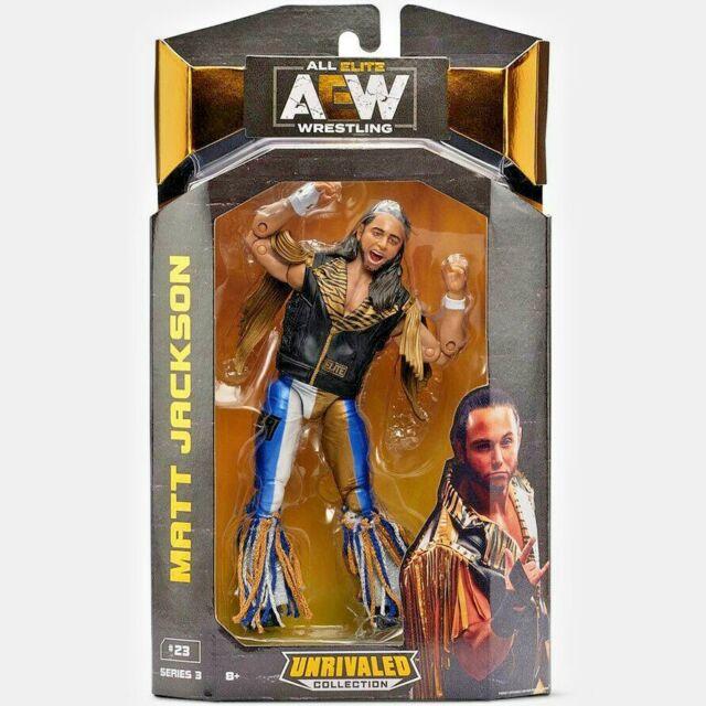 "Matt Jackson AEW Unrivaled Series 3 WCT Jazwares 6.5"" Wrestling Figure"