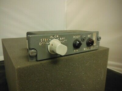 Aircraft Carousel Mode Selector Unit 7883470-011
