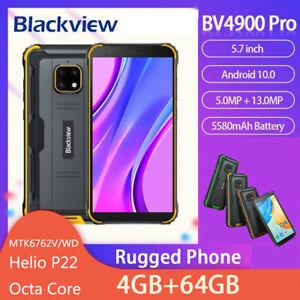Blackview BV4900 Pro Waterproof Rugged Phone 5.7inch 4GB 64GB Octa Core 5580mAh