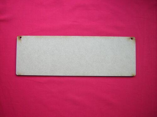 Placas 25cm X 10cm 250 Mm X 100mm-Corte Láser Mdf ooden forma 3 rectángulos