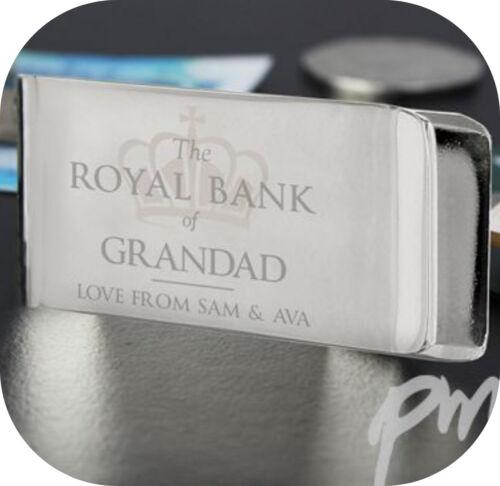 Personalizado /'Royal Bank of. Clip de Dinero cumpleaños regalo de agradecimiento boda fiesta