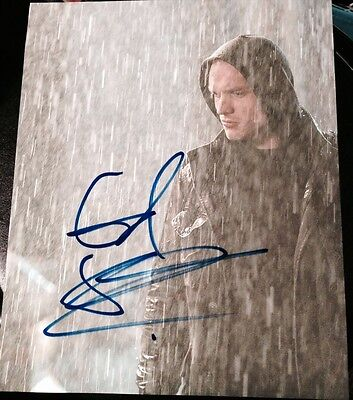"Flavor Cheap Sale Ed Skrein Signed Autograph ""deadpool"" Intense Rare Rain Scene 8x10 Photo Coa Fragrant In"