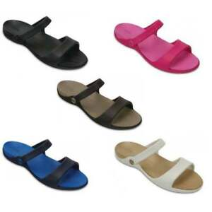 39a082f15ed669 Crocs Cleo V Ladies Sandals All Sizes In Various Colours
