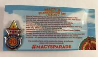 Macy's 90 Years Thanksgiving Day Parade Pin Collectible
