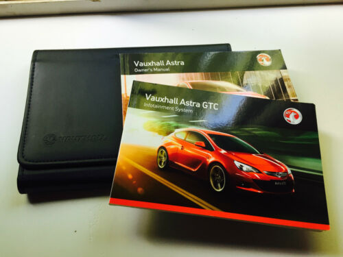 INFOTAINMENT audio-libro di navigazione VAUXHALL ASTRA GTC /& VXR MANUALE Pack