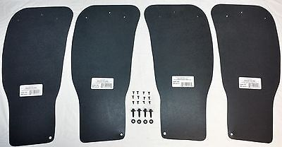 Ford 1990-1997 F150 F250 F350 BRONCO inner Rear Wheel Splash Sheilds set of 4