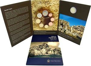 Malta-Euro-KMS-2016-Ggantija-1-Cent-bis-2-Euro-Muenzzeichen-Fuellhorn-im-Folder