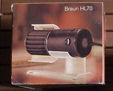 Braun Tischlüfter Ventilator Lüfter HL 70 braun - neu -