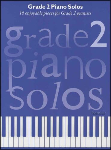 Grade 2 Piano Solos Sheet Music Book