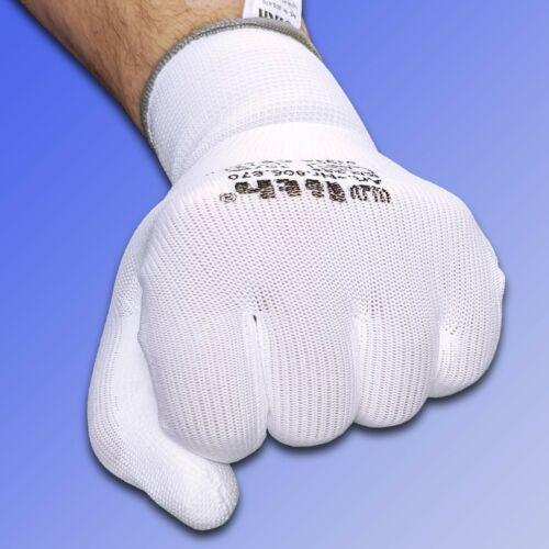 Strickbündchen Ulith ® Arbeitshandschuhe Weiß mit PU-Beschichtung u