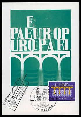 Flight Tracker San Marino Mk 1984 Europa Cept BrÜcke Maximumkarte Carte Maximum Card Mc /m992 Kaufen Sie Immer Gut Architektur