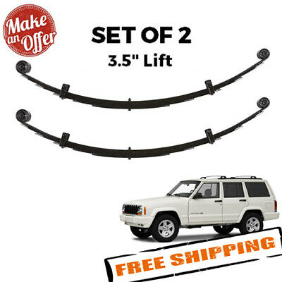 Rubicon Express RE1463 3.5 Leaf Spring for Jeep XJ