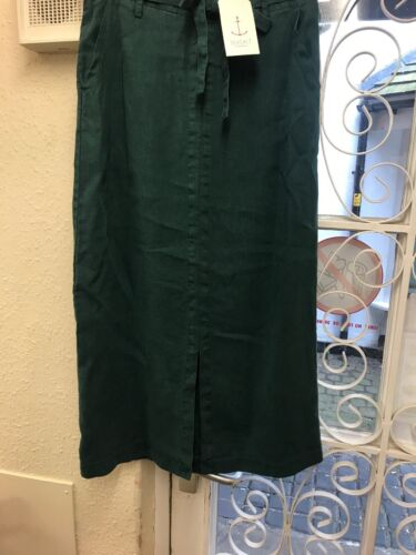Sizes 8,12,18 Seasalt Pencil Skirt Green Linen Rrp £65