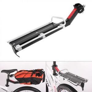 Aluminium-Velo-Cyclisme-Rack-Arriere-Tige-de-selle-Velo-Porte-bagages-etagere