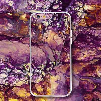 New Purple Design Shockproof Case Soft Silicone TPU Back Cove for Various Phone