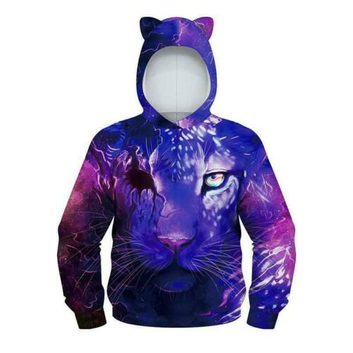 Girls Boys Rocket Hoody Pullover Sweater Sweatshirt Jumper Outwears Halloween