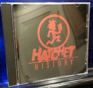 Insane-Clown-Posse-Hatchet-History-CD-Psy-3020-1st-Press-Twiztid-Dark-Lotus