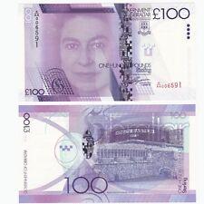 2011 GIBRALTAR - £100 Pounds Banknote - P.39 - UNC - A/AA Prefix.