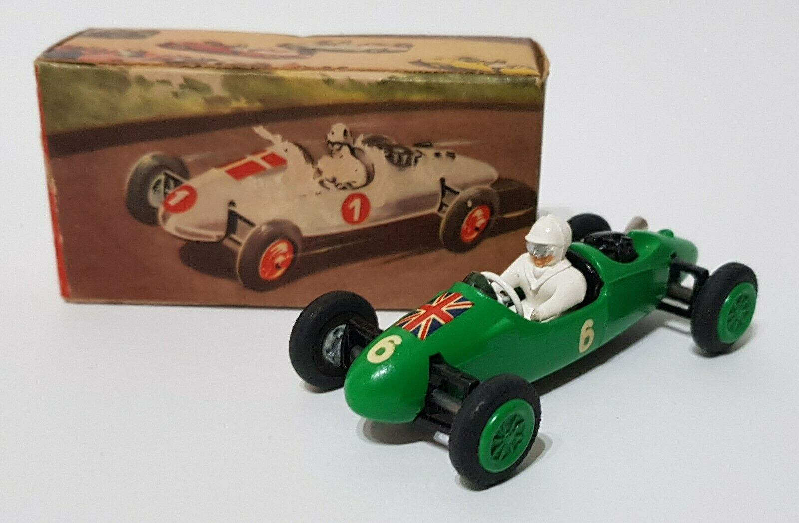 Tekno Toys No. 812, British Norton   Cooper Midget Car, - Superb Mint Condition.