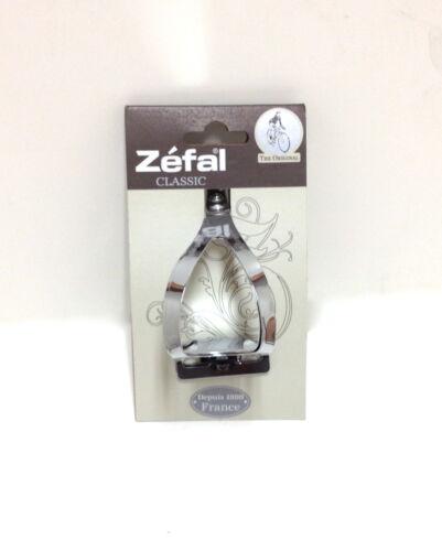 Vélo ZEFAL Steel Toe Clips Set Paire Small/Medium NEUF