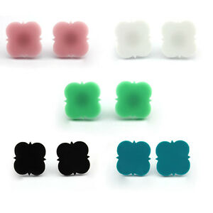 Image Is Loading Lady Blank Acrylic Monogrammed Earrings Earring