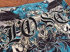 Mens LOST ENTERPRISES Board Size 33 Surf Shorts Blue New MASTERS OF MAYHEM
