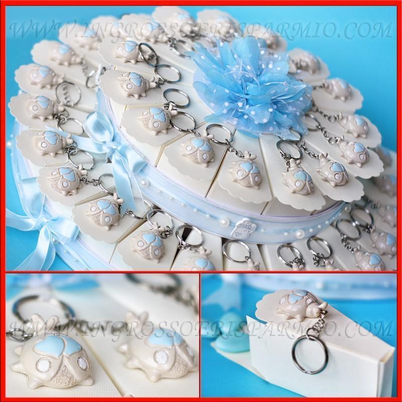 Faveurs de mariage mariage de naissance baptême gâteaux porte-clés coccinelles celesti bébé b24f54